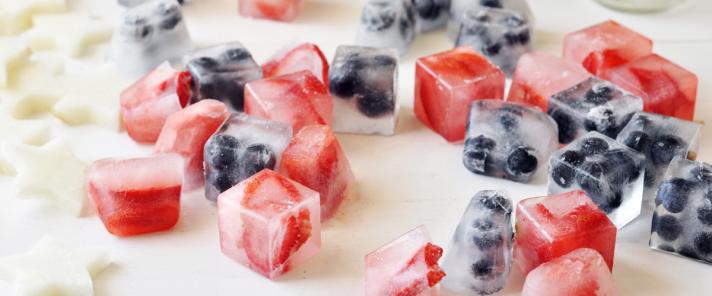 Fruit Ice Cube